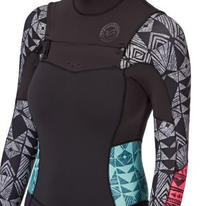 Billabong Salty Dayz 3/2mm Chest Zip Wetsuit - Sea   Free Delivery*