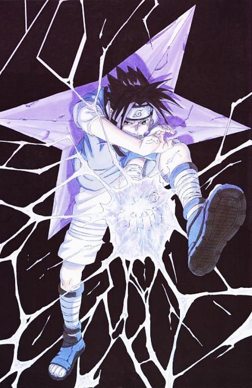 Sasuke geared up to kick some ass!