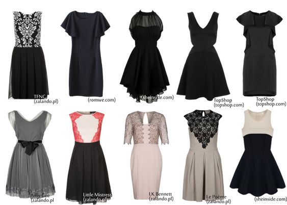 DRESSES FOR A PEAR SHAPED BODY, sukienki dla gruszki