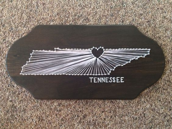 Tennessee string art.