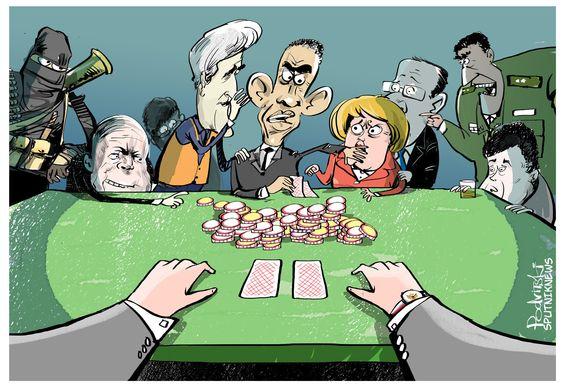 Jogo no palco político internacional