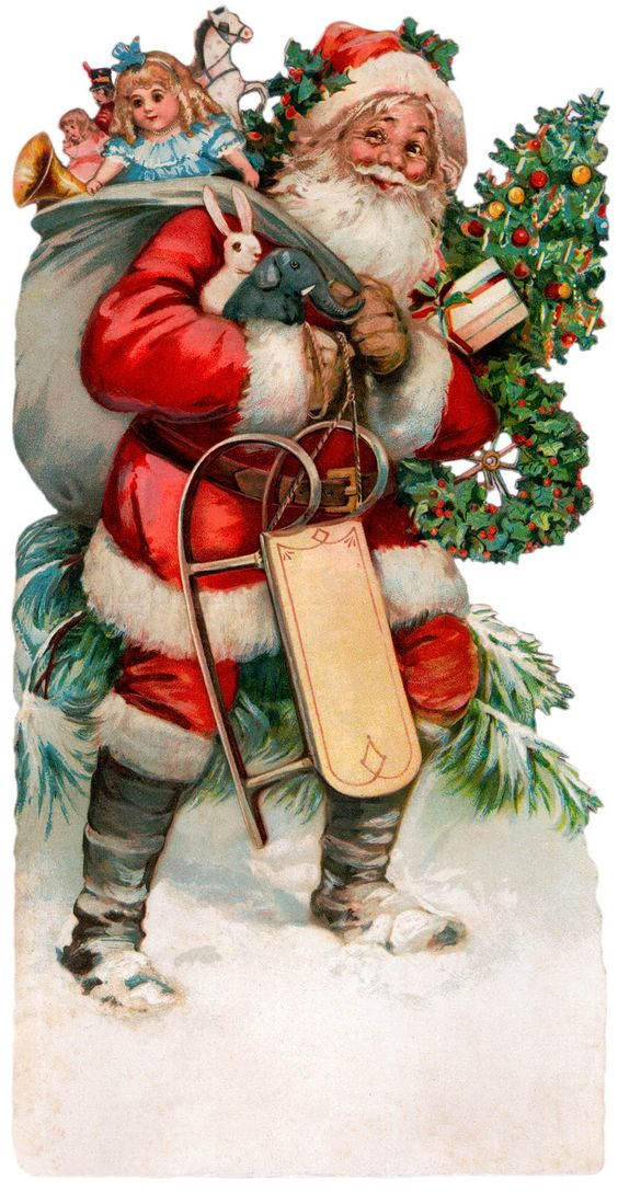 Interior & Decor: Pictures for decoupage. Christmas. Part 5