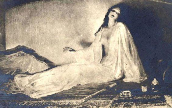 Albert Matignon, Réveil d'opium ou Le vampire de l'opium, 1911