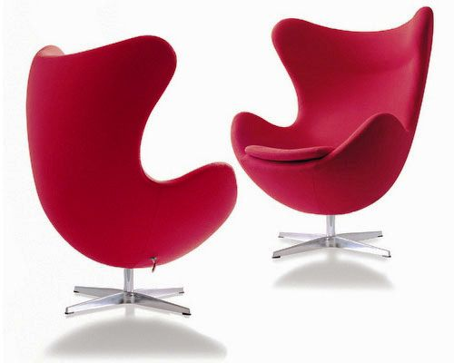 Cadeira egg  - Casas Possíveis: Chairs Furniture, Modern Chairs, Design Chairs, My Interiors Style, Arne Jacobsen