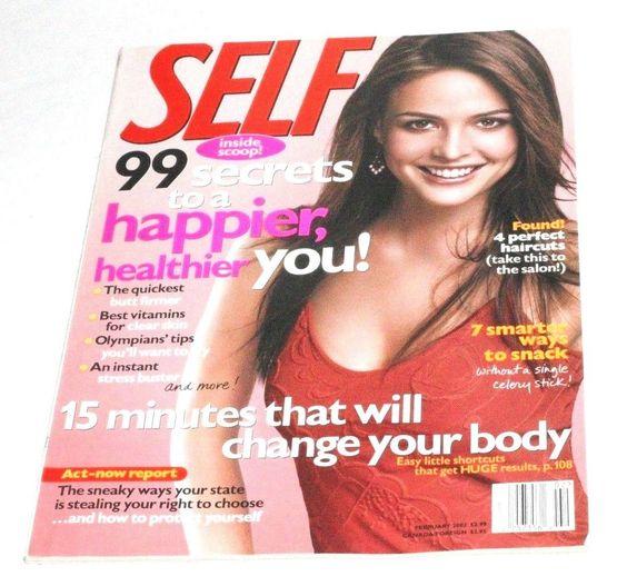 February 2002 cover with Josie Maran