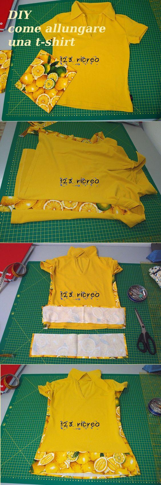 DIY come allungare una maglia