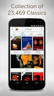 Free Books - 23,469 Classics- screenshot thumbnail