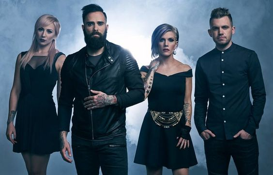 Grammy-nominated rockers Skillet will releaseUnleashed, their new studio album and follow up to their 2013 releaseRise, which bowed at #4 on the Billboard Top 200 Album Chart, on August 5th. The 12-track album, a year in the making, is currently available for pre-order via all digital re