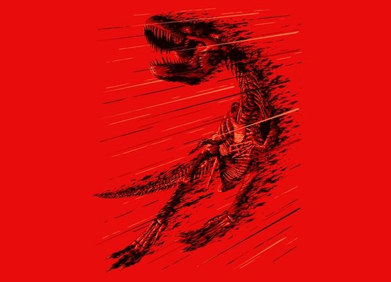 """""""Extinction of a T-Rex"""" - Threadless.com - Best t-shirts in the world"""