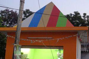 Shiva Shakti Pyramid Meditation Center type of structure : RCC timing : 24x7, open for public use http://www.pyramidseverywhere.org/pyramids-directory/pyramids-in-andhra-pradesh/coastal-andhra/guntur-district