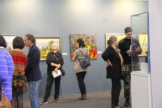 На открытии выставки в Музее изобразительных искусств в Калининграде. Фото Жени Шведы