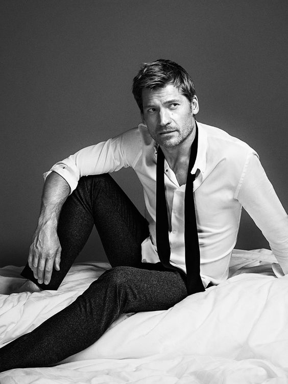 Game of Thrones actor Nikolaj Coster-Waldau captured by the lens of Richard Ramos and styled by Alberto Moreno, for the February 2015 coverstory of GQ España.