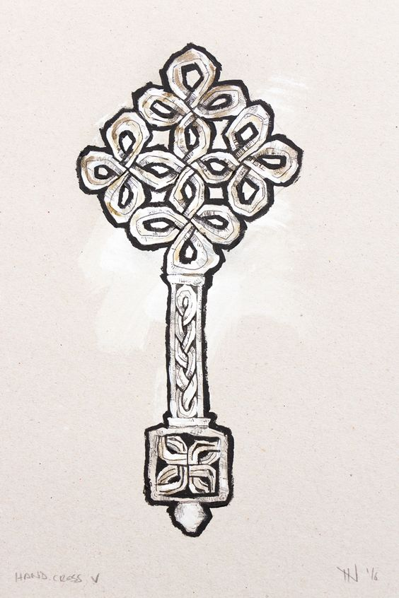 #Ethiopia #Hand #Cross Design from 19th and 20th century. // #JordiNN // 2016