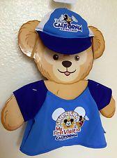 Duffy the Disney Bear Clothes Costume Shirt Hat 1st Trip California Adventure