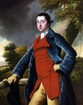 Portrait of Francis Burdett by Joseph of Derby - Hand Painted Oil Painting