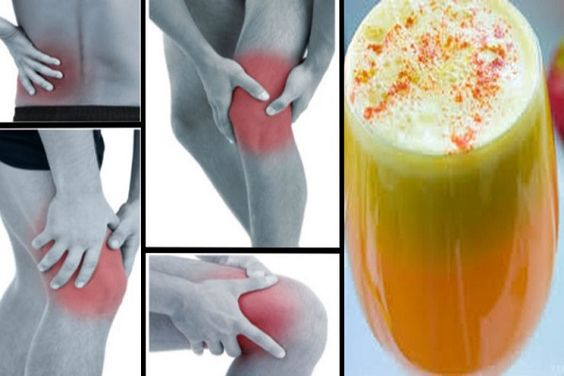Say Goodbye To Pain In your Joints, Legs, And Lower Back With This Proven Anti-Inflammatory Juice Recipe