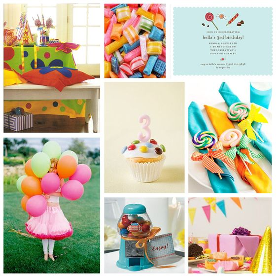 .: Candy Themed Party, Kids Birthday, Party Decoration, Party Idea, Party Theme, Candyland Party, Birthday Ideas