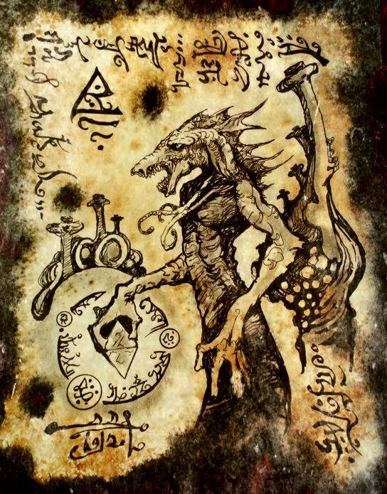 El Necronomicón,un libro salido de los infiernos Ad9dfcea4b4495dbfe581349ca801df2