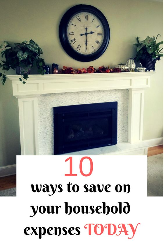 """As a family of 5, living on one income I share """"10 ways to save on your household expenses"""" that will save you hundreds every month."""