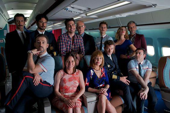 La nueva película de Almodóvar, Los amantes pasajeros