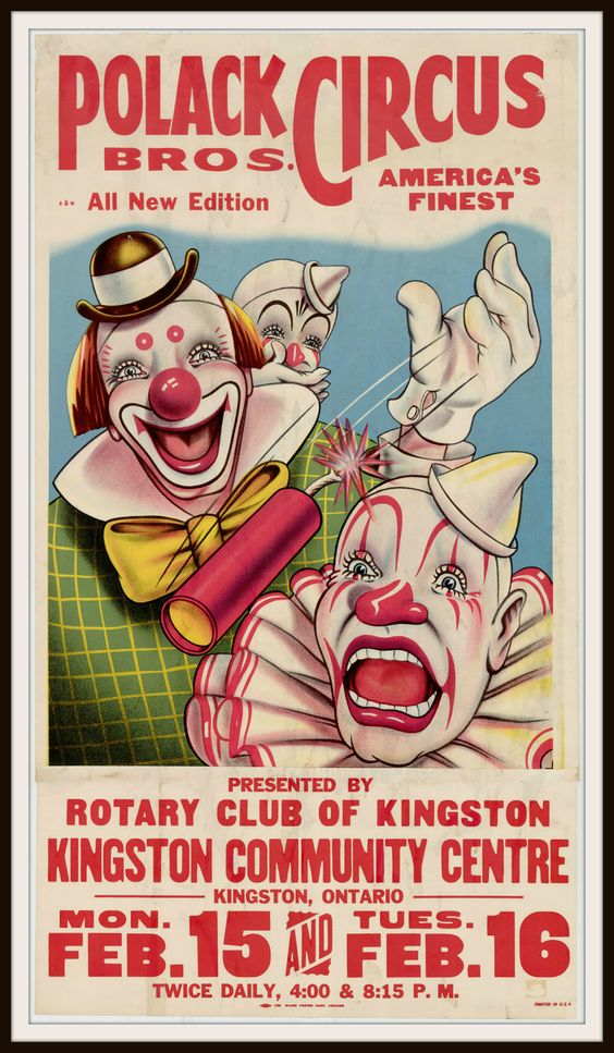 Vintage Circus Print 72