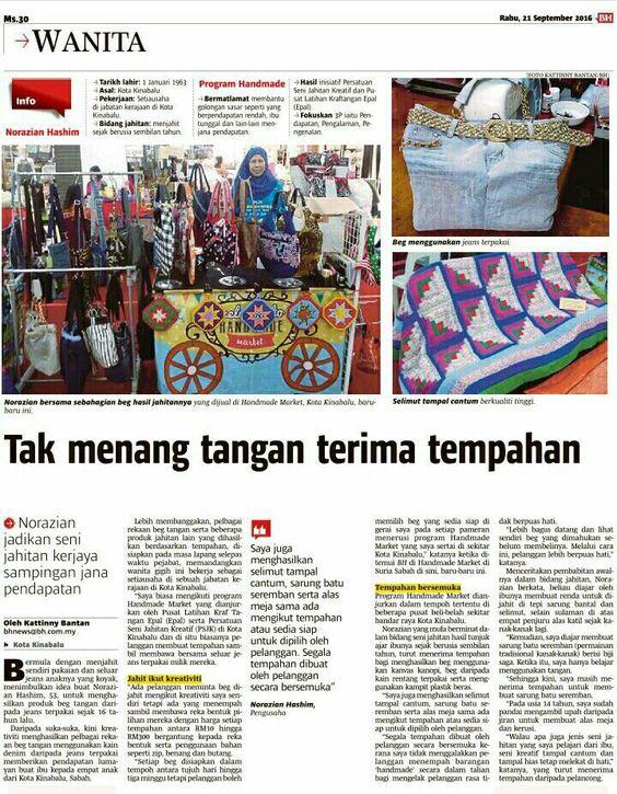 Handmade Market, Sabah 24-28 Aug 2016