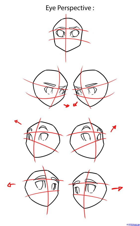 How to Draw Anime Eyes, Step by Step, Anime Eyes, Anime, Draw Japanese Anime, Draw Manga, FREE Online Drawing Tutorial, Added by NeekoNoir, ...