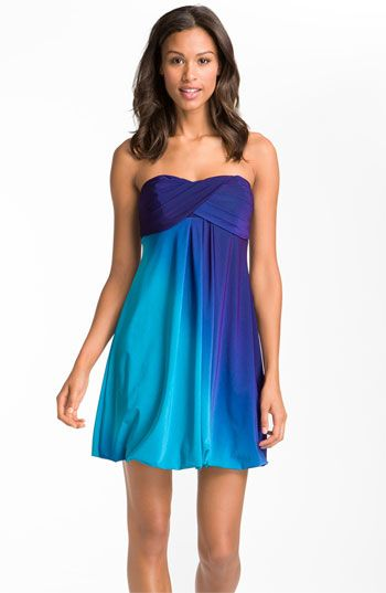 Gorgeous Ombré Jersey Dress | Nordstrom. Just arrived today and it's even better in person!! I'm obsessed with ombre.