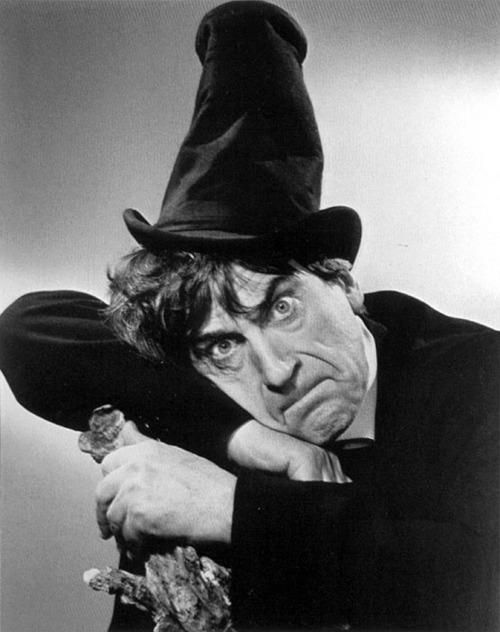 Patrick Troughton in early publicity shot. I don't think the 3rd Doctor ever wore this hat in an episode. Just in the comic strip.