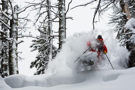 """Powder on Twitter: """"Henrik Windstedt flying in the glades near Teton Pass, Wyoming. PHOTO: @MF_Photography_ https://t.co/1O8VbmeQFF"""""""