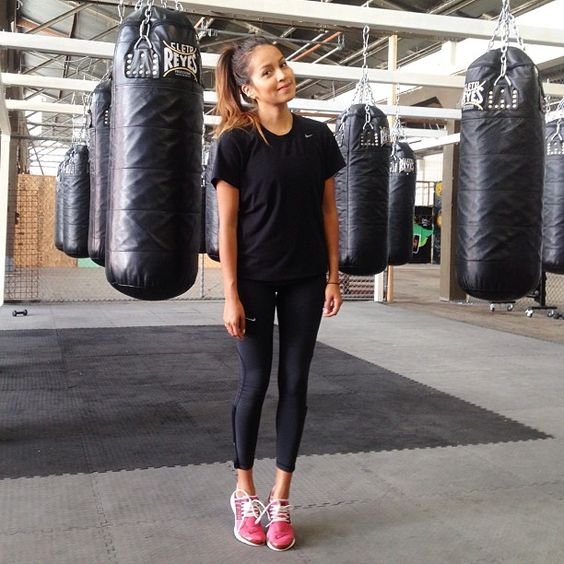 Getting back on track with boxing @cityofangelsbox  #workingonmyfitness how do you stay fit?