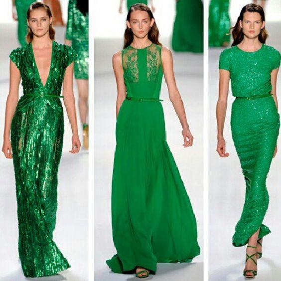 Green! Oh, I love them!
