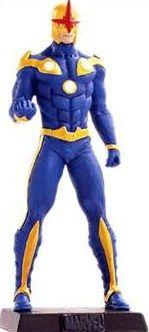 Eaglemoss Marvel Comics Nova Lead Figurine