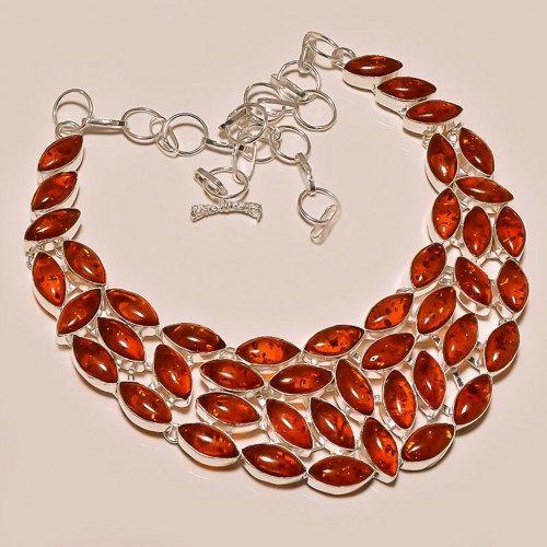 Venus Honey Baltic Amber Necklace
