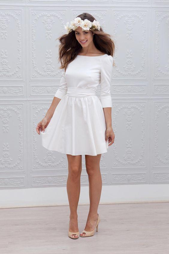 La plus belle robe courte! 👰 2