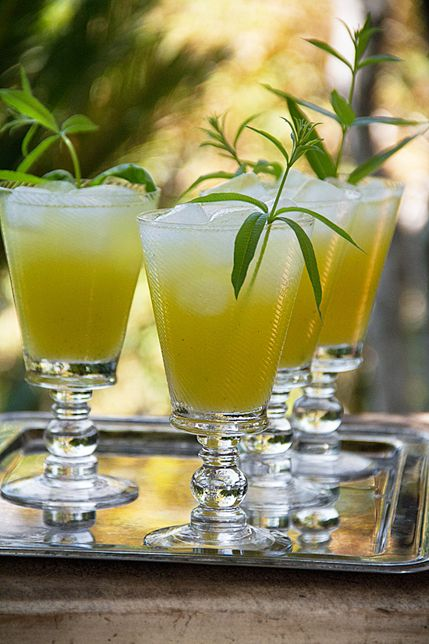 Pineapple Lemon Verbena Lemonade | Recipe | Lemonade and Lemon