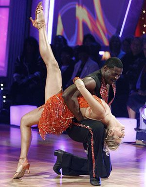 DWTS Season 9 Fall 2009 Michael Irvin and Anna Demidova