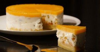 Nougat glacé au miel et abricots