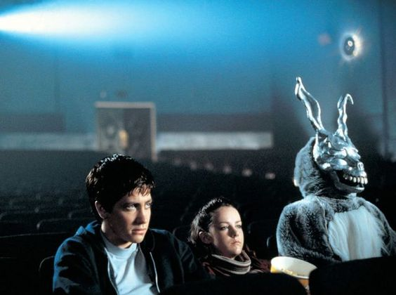 Donnie Darko (2001) Director: Richard Kelly Starring Actors: Jake Gyllenhaal, Jena Malone, Mary McDonnell  A troubled teenager is plagued by visions of a large bunny rabbit that manipulates him to commit a series of crimes, after narrowly escaping a bizarre accident.  Watch the movie here for free: http://www.watchfree.to/watch-3f96a-Donnie-Darko-movie-online-free-putlocker.html