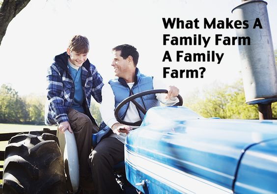 """""""Family farm"""" is a generic term that means many different things to many different people. Here's one farmer's take."""
