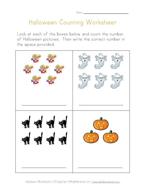 halloween counting worksheet for reversals ot handwriting pinterest halloween and worksheets. Black Bedroom Furniture Sets. Home Design Ideas