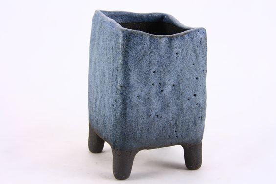 Potter: Roman Husmann 6 x 6 cm Akzentschale Kusamono Accent Pot