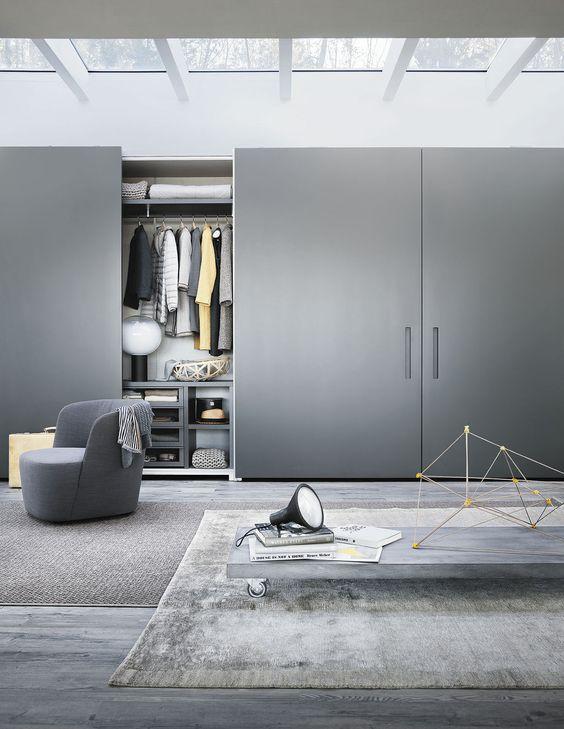 Armario moderno / con puertas corredizas / a medida / no especificado - LEMA Home