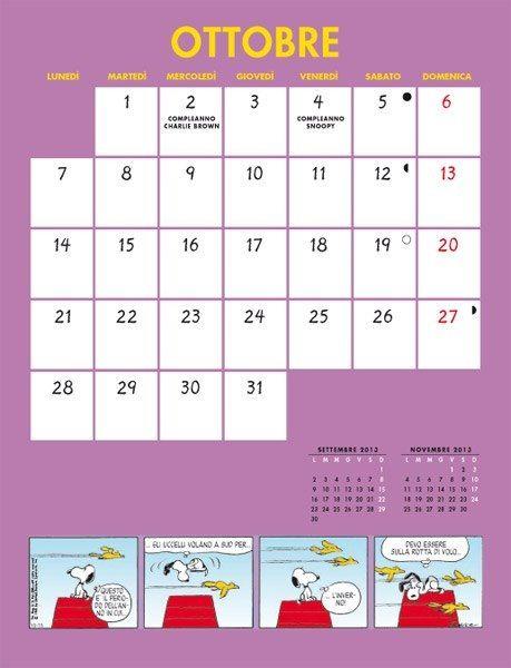 Calendario Pentaus - Ottobre 2013
