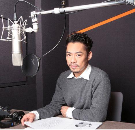 ラジオ番組中の高橋大輔さん
