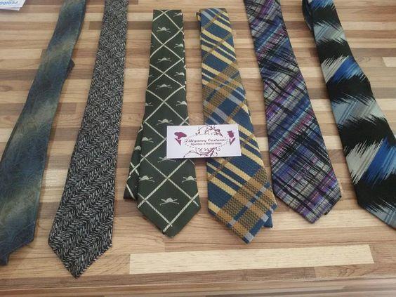 modernizar gravatas- transformar gravata larga em slim