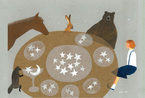 Libra's family life is central to Libra's overall happiness and sense of fulfillment. (thedailyastro.com) (Art: Nishi Shuku)