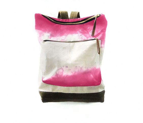 Fuschia City Backpack