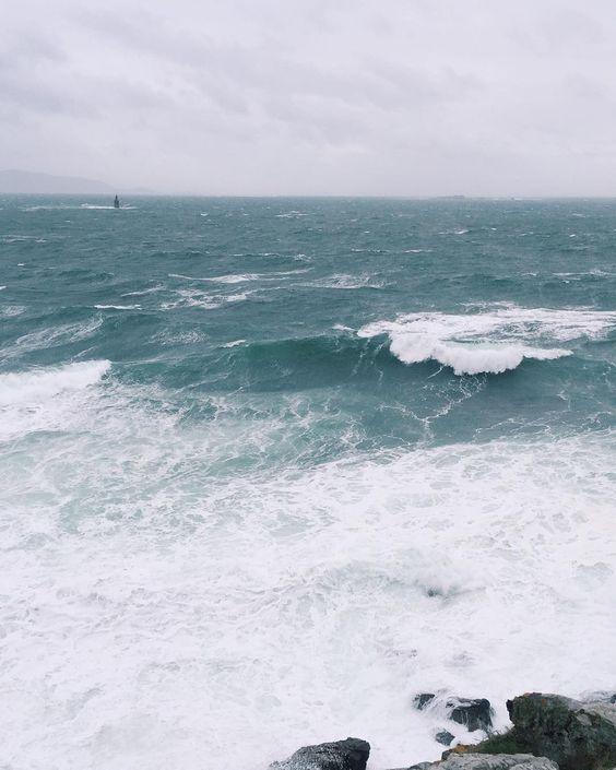 Por si no había dado la brasa suficiente con el temporal  #cee #costadamorte #galicia by pablosotelog