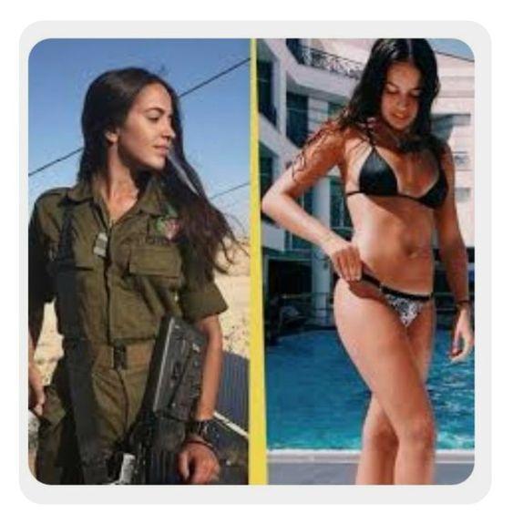 Израильские девушки-военные в форме и без - новый хит Instagram